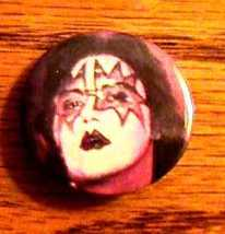 ACE FREHLEY KISS BUTTON ! - $19.79
