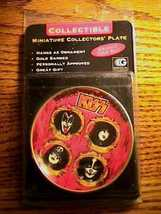 KISS MINIATURE COLLECTORS PLATE SEALED IN PACKAGE - $94.05