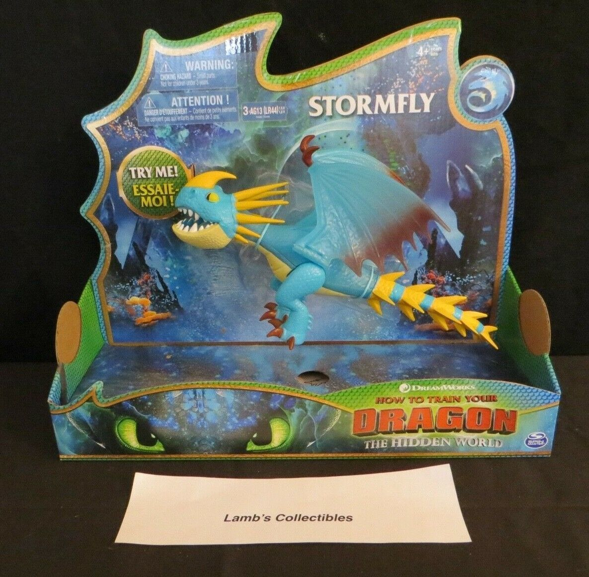 Primary image for How to train your Dragon 3 The Hidden World Stormfly Deluxe Figure glowing spike
