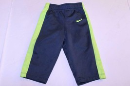 Infant/Baby Nike Therma Fit Sz 12 Mo. Grey & Neon Green Pants - $5.89