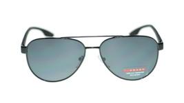 Prada Men Sunglasses PS54TS 1AB5Z1 Gunmetal/Grey Polarized Lens 58mm - $169.75