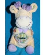 "Bright Inspirations PRAYER Geraldine GIRAFFE 8"" Yellow Soft Plush Toy St... - $16.42"