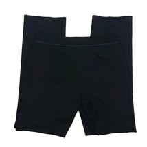 Sigrid Olsen Women Size 8 Dress Pants Outer Lace Waistline Black EUC Ray... - $13.09