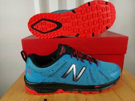 New Balance Mens MT590 V4 Trail Running Shoes Blue - $88.22