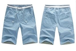 Men's casual pants in 5 minutes of pants cotton beach pants image 4