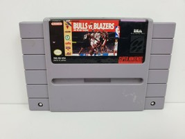 Bulls vs. Blazers and the NBA Playoffs (Super Nintendo, 1992) Game Only ... - $5.82