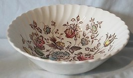 """Johnson Brothers Staffordshire Bouquet Floral 8"""" Round Deep Serving Bowl - $24.64"""