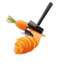 Simculpt Carrot Spiral Shred Slicer Root Vegetables Maker Handheld Kitch... - €9,48 EUR