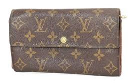 Authentic LOUIS VUITTON Sarah Long Wallet Monogram Zippered Coin Purse #... - $125.00