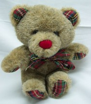 "Vintage Applause CHRISTMAS OLDE TIME TEDDY BEAR 5"" Plush STUFFED ANIMAL ... - $19.80"