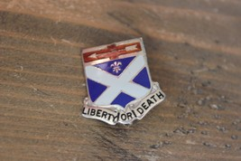 Enamel ARMY Liberty or Death Military Pin - $17.82