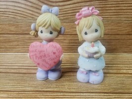 Vintage 2000 Precious Moments Wishing You The Sweetest BIRTHDAY/THANKS - $14.01