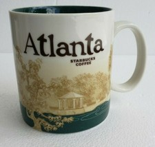 NEW 2011 Starbucks Coffee Mug ATLANTA Georgia City Collector Series Bari... - $46.74