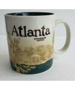 NEW 2011 Starbucks Coffee Mug ATLANTA Georgia City Collector Series Bari... - $46.74
