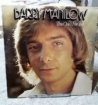 BARRY MANILOW This Ones For You 1976 Record Arista AL 4090 original  - $3.99