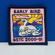 Girl Scout patch badge emblem vintage vtg memorabilia early bird gstc 20... - $11.60