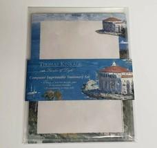 THOMAS KINKADE Nautical Designer Stationary Set Useful Elegant Vintage A... - $12.86