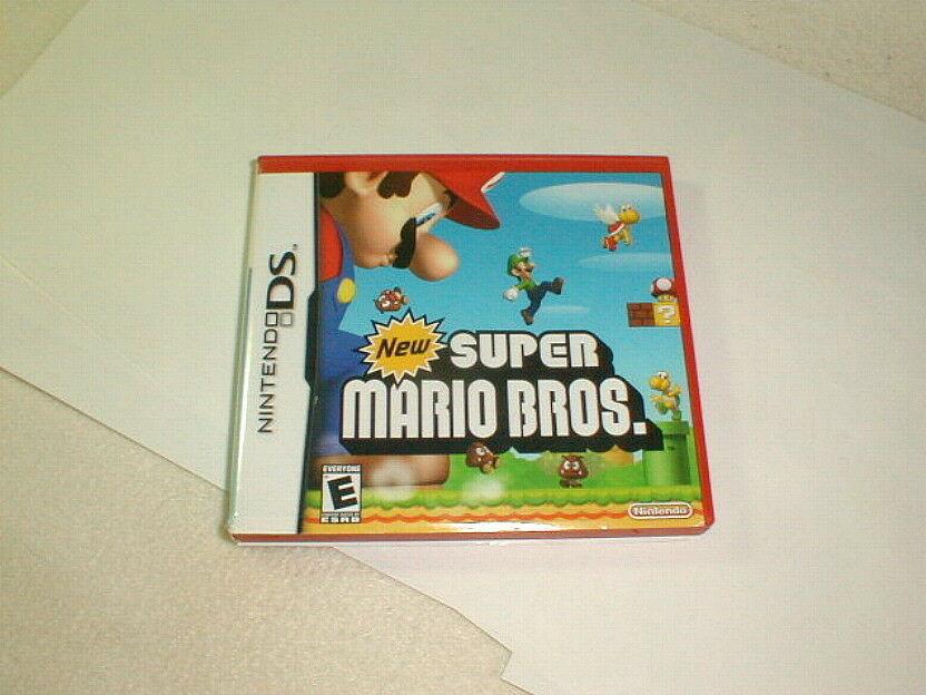 New super mario bros nintendo ds game tested authentic 2006
