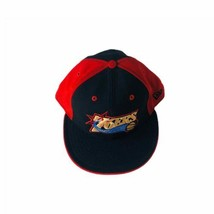 New Era 59 Fifty Philadelphia 76ers Fitted Hat Size 7.5 Black And Red,  Old Logo - $12.19