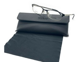 NEW Guess GU 2544 001 49mm Shiny Black Optical Eyeglasses Frames PETITE FIT - $31.92
