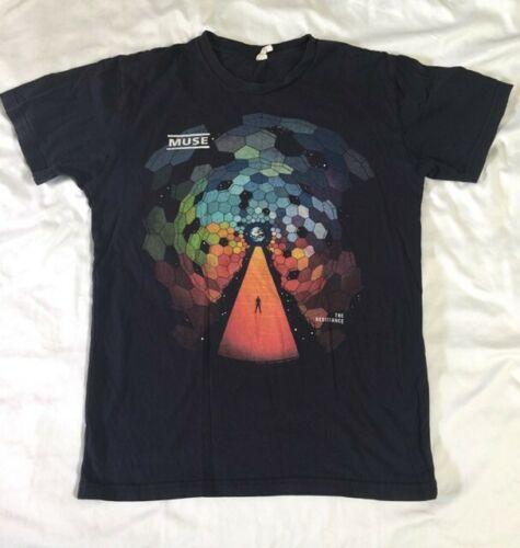 Muse Resistance 2010 Tour Men/Unisex T-shirt Size Small Soft and Comfy