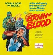 BRAIN OF BLOOD (1971) - Classic Horror B-Movie - Buy 2 DVD's, Get 1 FREE - $7.49
