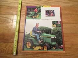 John Deere Tractors Lawn and Garden Vintage Dealer sales brochure - $13.99