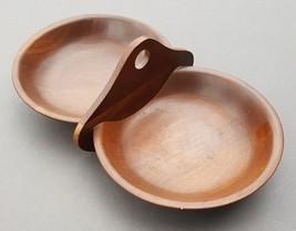 Ozark Black Walnut Walnutware Nut Bowl Candy Server Vintage Native Wood ... - $50.35