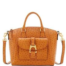 Dooney & Bourke Ostrich Naomi Satchel, Tan