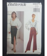 Butterick Sewing Pattern 3071 Pants Skirt Blouse Top size 12 14 16 Vinta... - $8.95