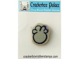 Crackerbox Palace Sentiment &Popped Corn Rubber Cling Stamps, Set of 2 image 3