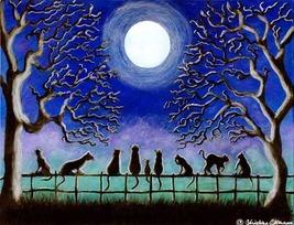 "Halloween Art Print Titled ""Nine Tails"" - $21.99"