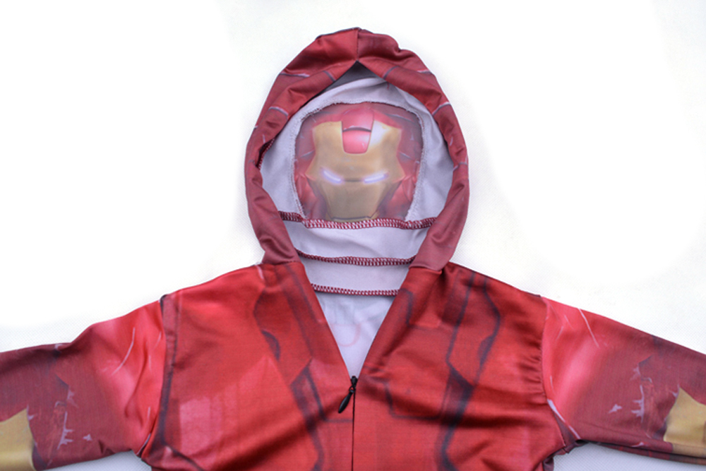 Iron Man Zentai Costume Cosplay Full Body Suit Spandex Party Catsuit
