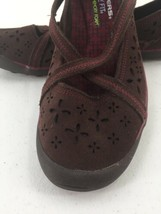 Skechers Womens 8M Shoes Wedge Wine Color Memory Foam image 2