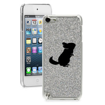 For Apple iPod Touch 4th 5th 6th Glitter Bling Hard Case Cover Chinchilla - $14.99