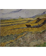 VAN GOGH Fine Print:  Enclosed Field with Ploughman Bruce McGaw Graphics - $9.95