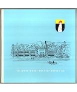 100 Jahre Waschanstalt Zurich AG Co book textiles shirts vintage 1960 hi... - $8.00