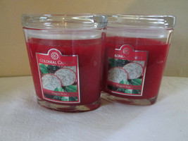 2 Colonial Candle ~ DRAGON FRUIT~ 8 oz Oval Jar Candles, FREE SHIPPING - $30.00