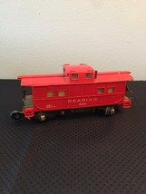 American Flyer Railroad Car Reading #630 - Red Caboose