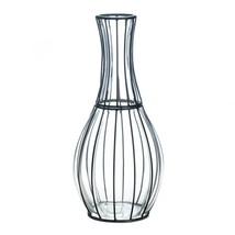 Vases Decorative Large, Tall Glass Metal Home Centerpiece Modern Vases D... - $70.97