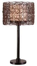 Kenroy Home 32219BRZ Tanglewood Outdoor Table Lamp, Bronze Finish - $125.91