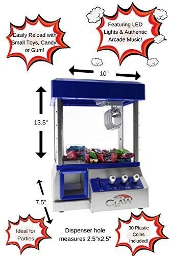 The Toy Grabber Claw Machine For Kids – Electronic Arcade-Style Game for Kids