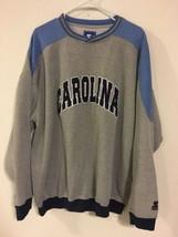 Vintage Starter Carolina Sweatshirt Men's Sz XL 55% Polyester 45% Cotton - $47.50