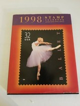 USPS 1998 Commemorative Stamp Yearbook ONLY NO STAMPS - $14.01
