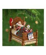 Hallmark SNOOZING SANTA Ornament with Alarm Clock - 2001 - $12.95
