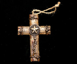 Western Styled Cross Christmas Ornament No. 2 - $5.95