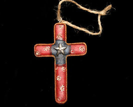 Western Styled Cross Christmas Ornament No. 4 - $5.95