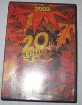 Digital Movie Press Kit DVD :  2003 20th CENTURY FOX FALL PREVIEW ALIEN ... - $9.99