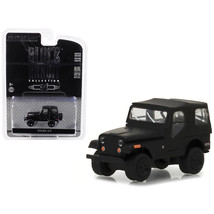 1970 Jeep CJ-5 Black Bandit Series 19 1/64 Diecast Model Car by Greenlig... - $14.20