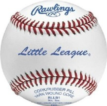 Rawlings Sport Goods RLLB1 Official Little League Baseball - Quantity 1 - $9.89